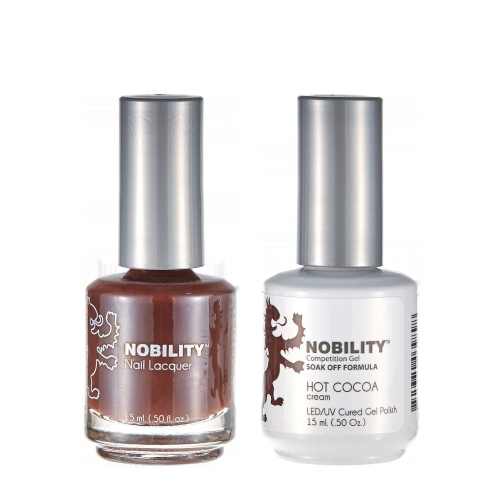 Nobility Duo Gel + Lacquer - NBCS171 Hot Cocoa