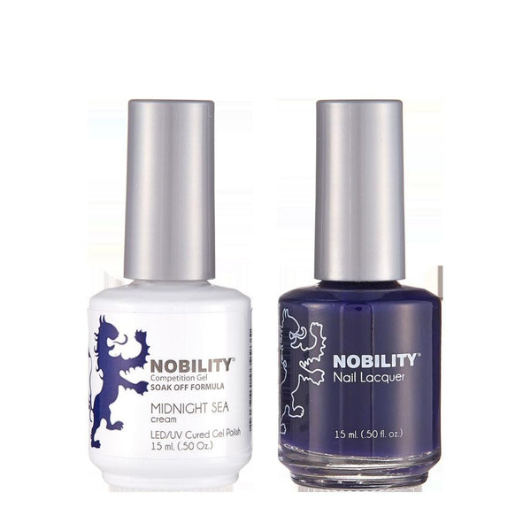 Nobility Duo Gel + Lacquer - NBCS175 Midnight Sea