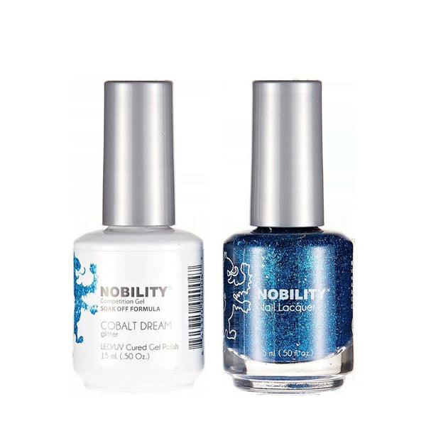 Nobility Duo Gel + Lacquer - NBCS186 Cobatt Dream
