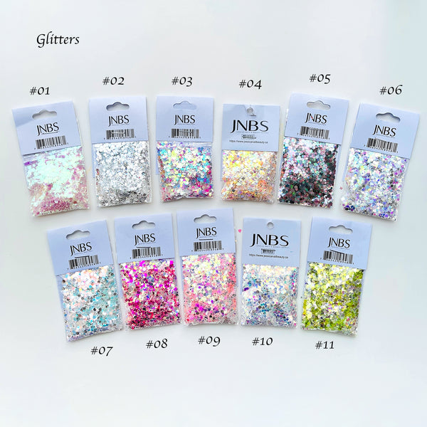 Glitter - Chunky Mixed Set (11 different styles) - BUY 10 GET 2 FREE!!