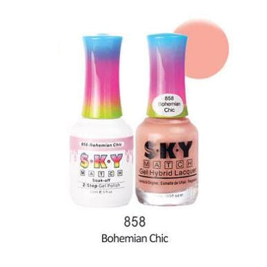 SKY MATCH Duo Gel Matching Color - 858