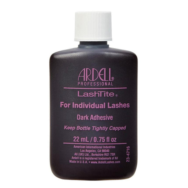 Ardell Lash Adhesive/LashTite For Individual Lashes - Dark Adhesive (22 mL)