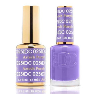 DND DC Duo Gel Matching Color - 025 AZTECH PURPLE