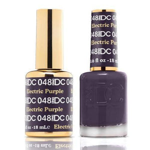 DND DC Duo Gel Matching Color - 048 ELECTRIC PURPLE