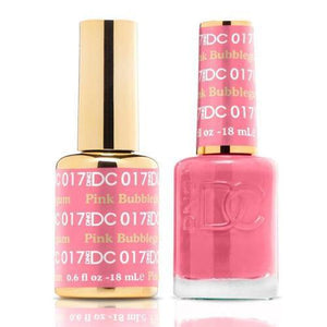 DND DC Duo Gel Matching Color - 017 PINK BUBBLEGUM