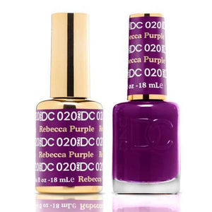 DND DC Duo Gel Matching Color - 020 REBECCA PURPLE