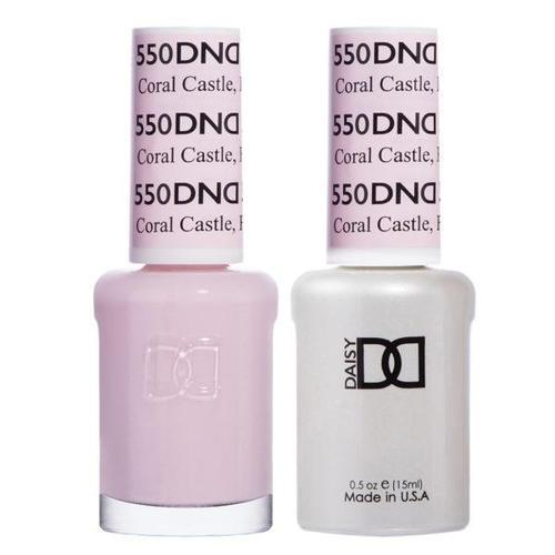 DND Duo Gel Matching Color - 550 Coral Castle FL