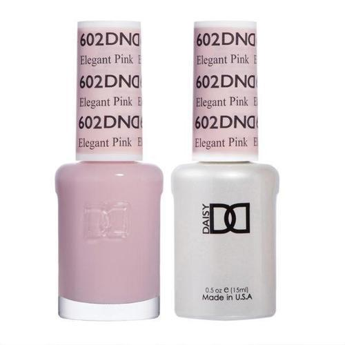DND Duo Gel Matching Color - 602 Elegant Pink