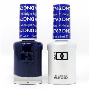 DND Duo Gel Matching Color - 762 Midnight Saphhire