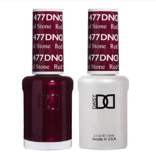 DND Duo Gel Matching Color - 477 Red Stone