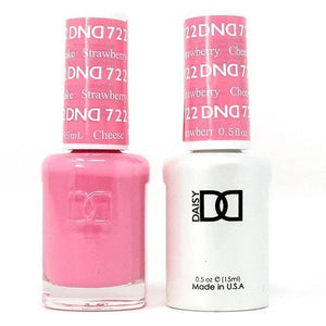 DND Duo Gel Matching Color - 722 Strawberry Cheesecake