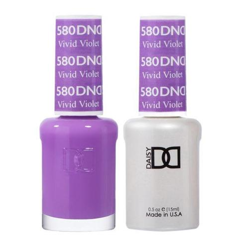 DND Duo Gel Matching Color - 580 Vivid Violet