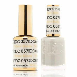DND DC Duo Gel Matching Color - 057 WHITE BUNNY
