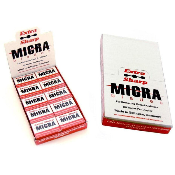 Micra Pedicure Blade - Removing Callus (Pack of 10 boxes)