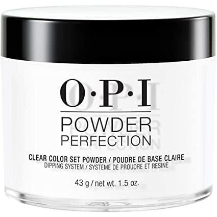 OPI Powder Perfection - DP003 Clear Color Set Powder 43 g (1.5oz)