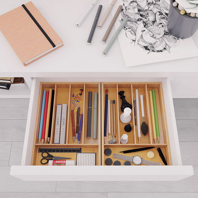 Bamfox Office Drawer Organizer