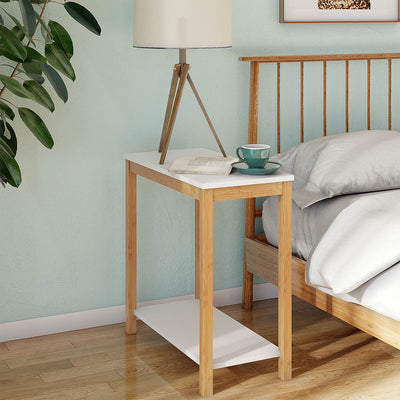 Bamboo bedroom Snack Table