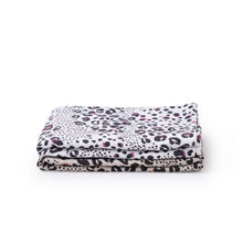 Load image into Gallery viewer, Baby swaddle 2 pack in animal print - side view