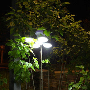 5-Leaves Solar-Powered Led Light