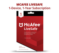 McAfee LiveSafe 2020 | 1 year | 1 device | ESD