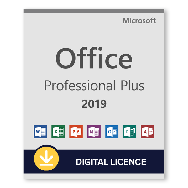 Office 2019 Professional Plus Digital Licence | 32bit/64bit | FPP - Retail