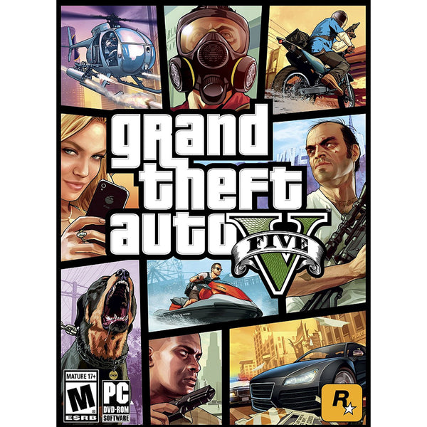 Grand Theft Auto V 5 | PC | Rockstar Games | WorldWide | Digital Download