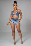 So Me Denim Short Set