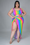 Rainbow Vibes Swim Set