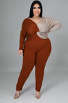 Cut To It Pant Set (Curve Collection)