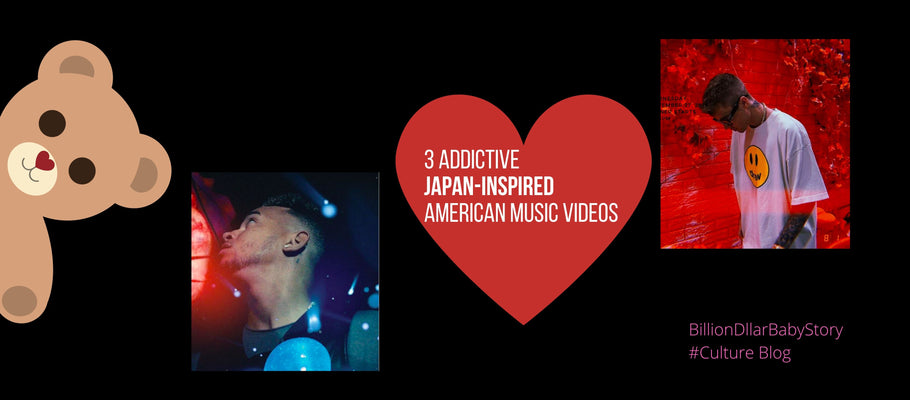 3 Addictive Japan Inspired American Music Videos