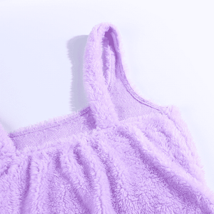 Cuddle Me Furry Mini Dress