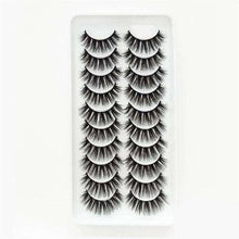 Load image into Gallery viewer, 3D Mink Hair False Eyelashes 10 packs