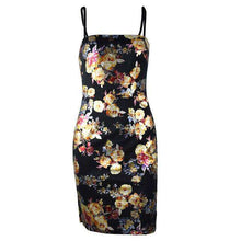 Load image into Gallery viewer, Oriental Manner - Flower printed mini dress
