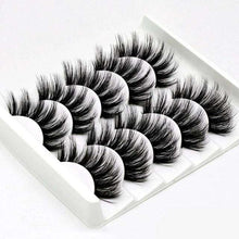 Load image into Gallery viewer, 3D Mink Hair False Eyelashes 5 packs