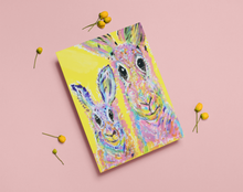 Load image into Gallery viewer, Greeting Card - Rabbit Mother and Baby Boy
