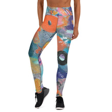 Load image into Gallery viewer, Yoga Leggings-Graffiti Bottoms