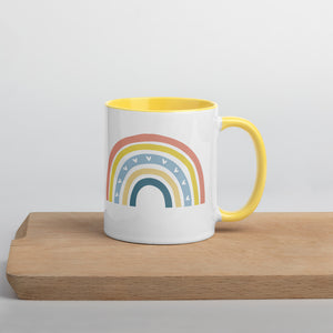 Rainbow Mug with Colour Inside
