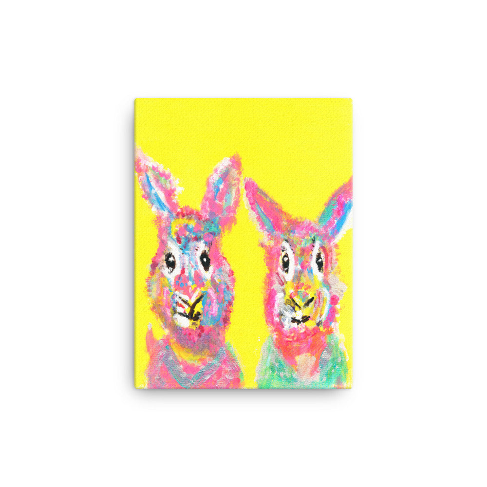 Rabbit Bros-Graffiti Style Wall Art- Canvas