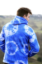 Load image into Gallery viewer, Unisex Hoodie, Blue Tie Dye