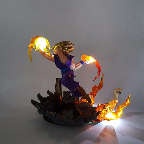 Figurine LED Dragon Ball Z Gohan Super Saiyan 2