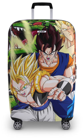 Housse de Valise Dragon Ball Z</br> Fusion Saiyan