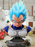 Figurine Collector </br> Buste Vegeta Blue