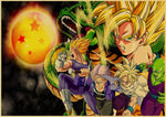 Poster Dragon Ball Z </br> Univers Saiyan