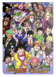 Poster Dragon Ball Z</br> One Piece