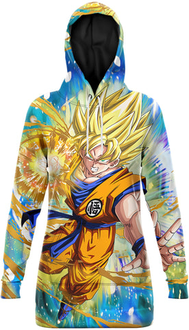 Robe Sweat DBZ</br> Attaque Saiyan
