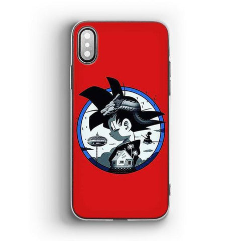 Coque DB iPhone<br/> Goku Petit