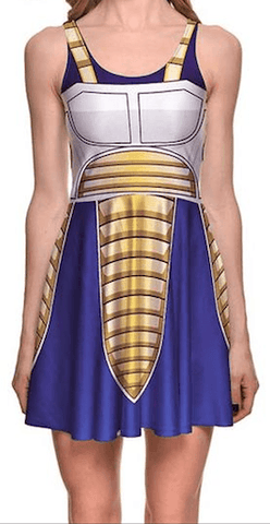 Déguisement Dragon Ball<br/> Robe Prince Vegeta