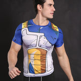 T-Shirt Compression <br/> Vegeta