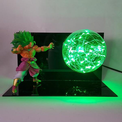 Lampe Dragon Ball Z<br>Broly SSJ Légendaire
