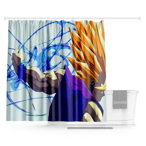 Rideau Douche Dragon Ball</br> Gohan Super Saiyan